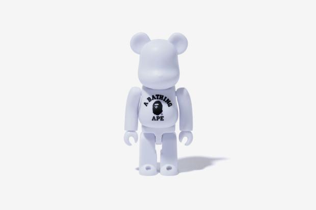 a bathing ape x medicom toy bearbrick 2011 capsule collection