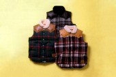 A Bathing Ape x Rocky Mountain Featherbed Co. Down Vests Preview