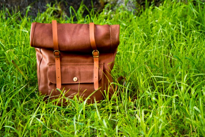 A Kind of Guise Leather Backpack