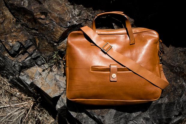 A Kind of Guise Leather Messenger Bag