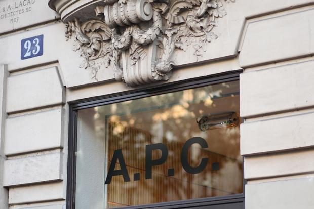 A.P.C. Paris rue Royale Store Opening Event Recap