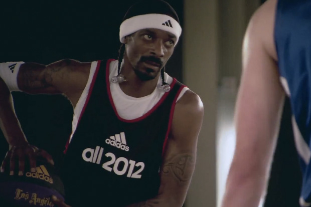adidas all 2012: Snoop Dogg, Warren G and Phillips Idowu 3-on-3