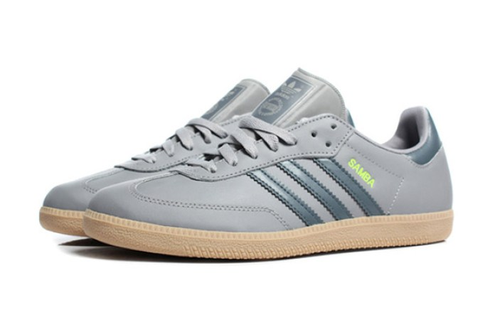 adidas Samba Aluminum Grey