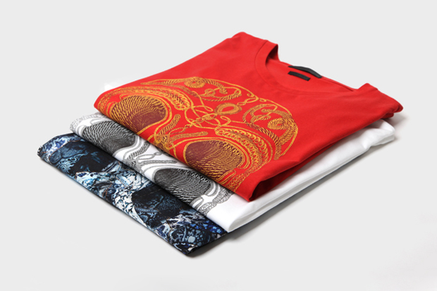 Alexander McQueen 2011 Fall/Winter Skull T-Shirt Collection