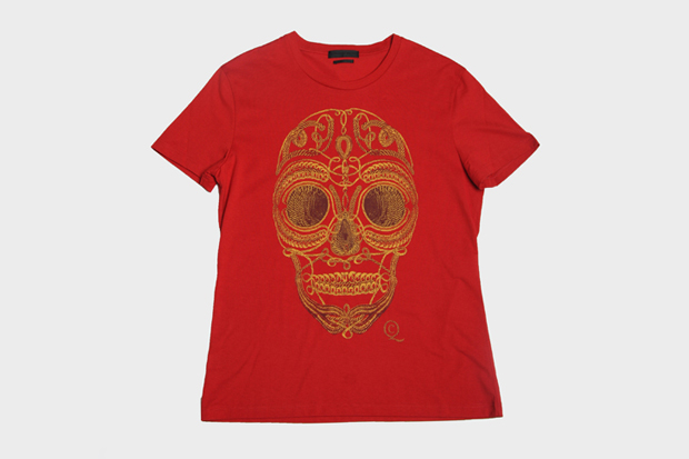 alexander mcqueen 2011 fallwinter skull t shirt collection