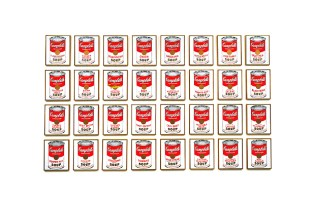 Andy Warhol Campbell's Soup Cans Exhibition @ MOCA