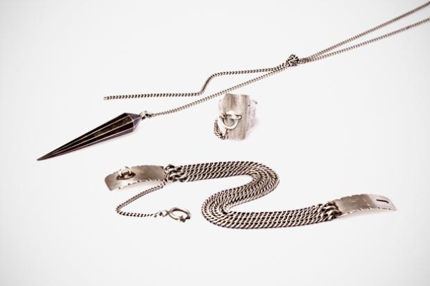ann demeulemeester 2011 fallwinter accessories collection