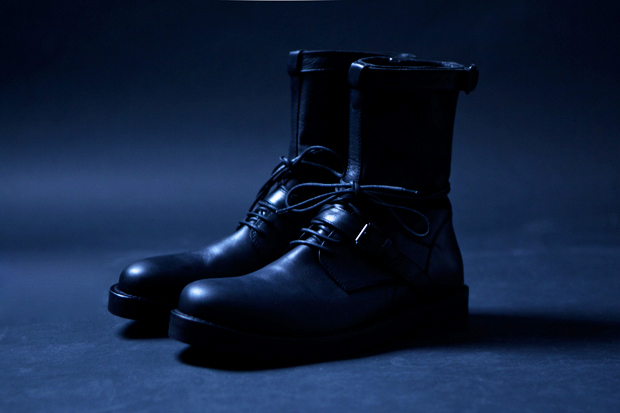 Ann Demeulemeester 2011 Fall/Winter Vitello Olio Boots