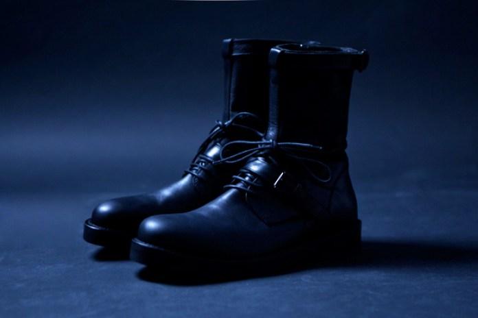 Ann Demeulemeester 2011 Fall/Winter Vitello Olio Boots