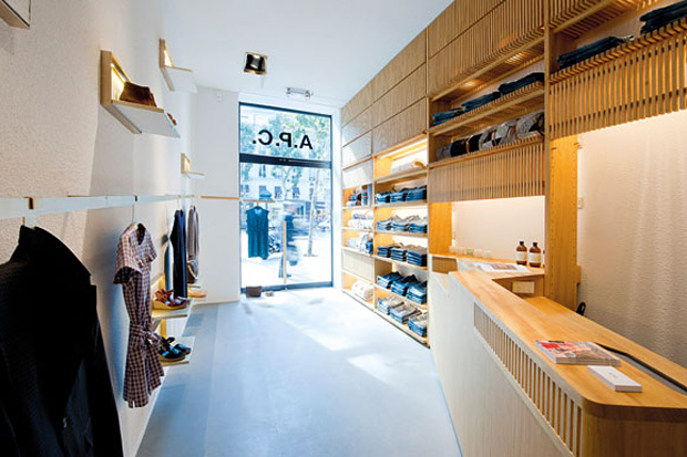 A.P.C. Rue Royale Store Opening