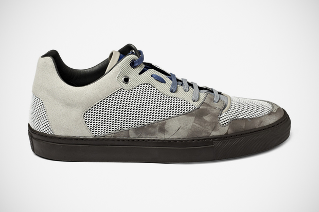Balenciaga Mesh/Leather Sneakers