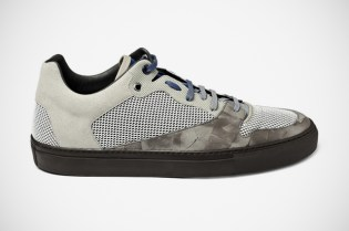 Balenciaga Mesh/Leather Sneakers