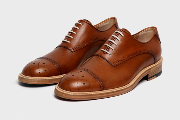 band of outsiders classic wing tip oxford