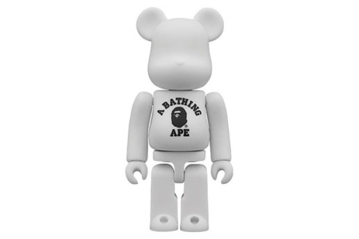 A Bathing Ape x Medicom Toy 100% Bearbrick