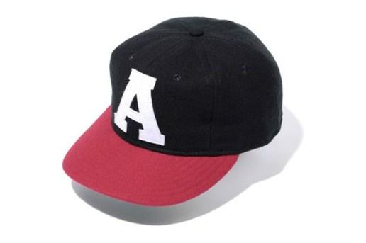 "A Bathing Ape x Ebbets Field ""A Emblem"" Cap"