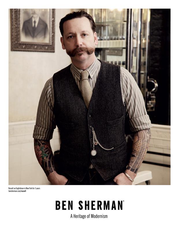 ben sherman englishman in new york 2011 fall campaign