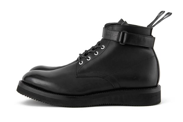 black sense market x miharayasuhiro leather boots