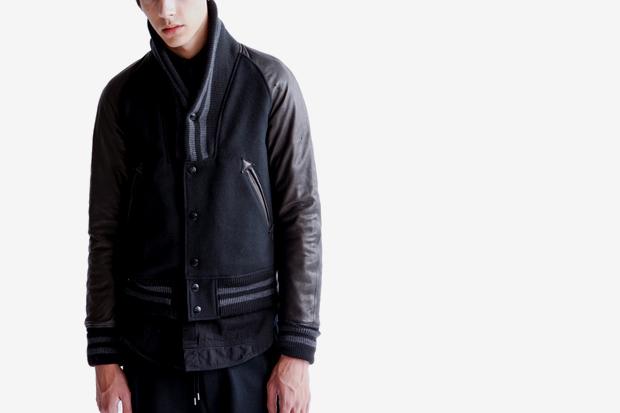 black sense market x miharayasuhiro stadium jacket