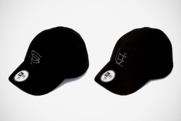 BLACK SENSE MARKET x SOPHNET. & uniform experiment New Era Fitted Caps