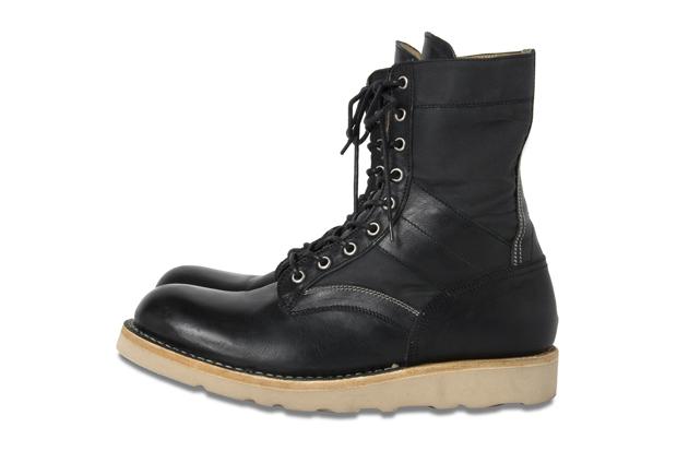BLACK SENSE MARKET x nonnative Lace Up Boots