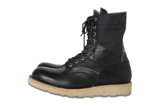 BLACK SENSE MARKET x nonnative Lace Up Boots