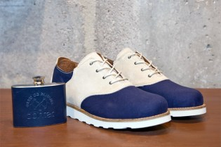 "Bleu de Paname x Pointer ""Charlie"" Saddle Shoe"