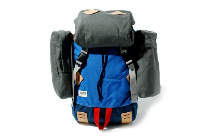 BLK Pine Workshop Canvas & Nylon Rucksack