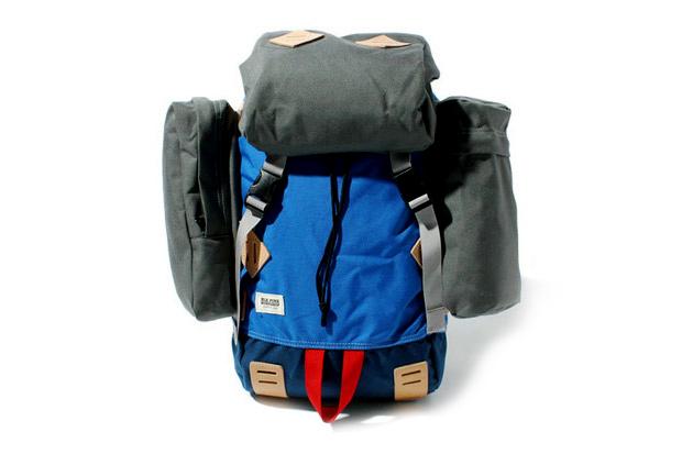 blk pine workshop canvas nylon rucksack