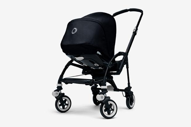 bugaboo bee all black stroller