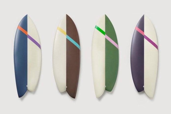 Chandelier Creative x Saturdays NYC x Rick Malwitz Surfboards