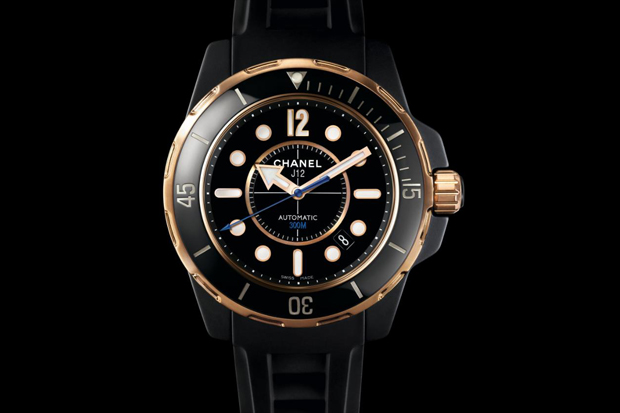 chanel j12 only watch marine diver