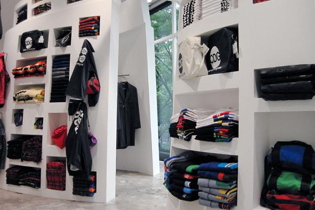 comme des garcons good design shop further look