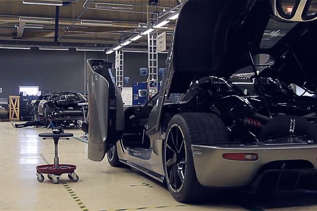 DOUGH'NUT x NALDEN: Koenigsegg Factory Visit