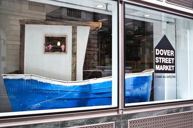 "Dover Street Market ""The Ship of Fools"" by  Matt Clark Display Window"