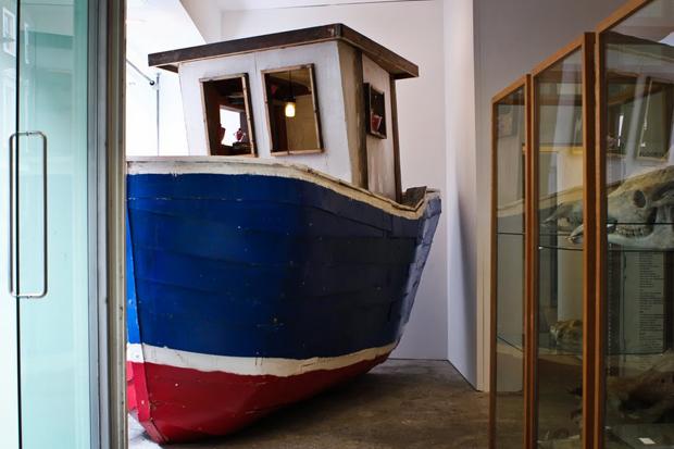 dover street market the ship of fools by matt clark display window