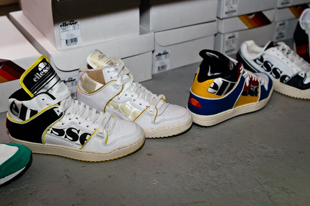 ellesse pop up shop coffee house london opening recap