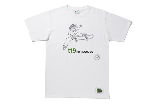 fragment design x T19 SKATEBOARDS T-Shirt