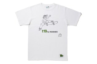 fragment design x T19 SKATEBOARDS T-Shirt