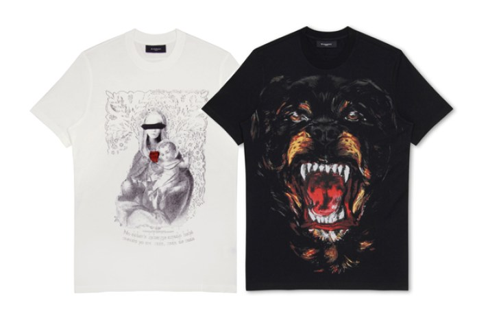 Givenchy 2011 Summer T-shirt Collection