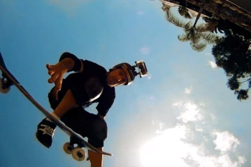 GoPro HD: Skateboarding Bucky Lasek's Backyard Bowl