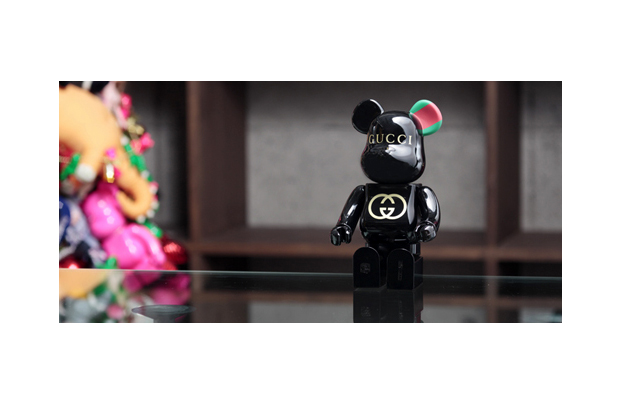 gucci x medicom toy 90th anniversary bearbrick 400 preview