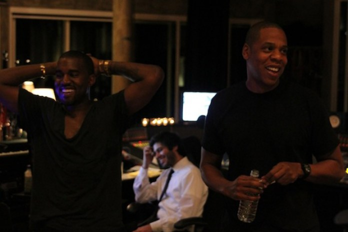 Jay-Z & Kanye West 'Watch the Throne' Session Photos