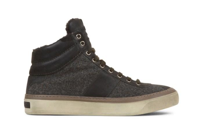 Jimmy Choo Flannel Sneaker