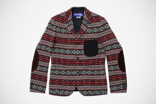 Junya Watanabe COMME des GARCONS MAN Wool Jacquard Blazer
