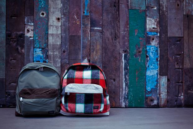 junya watanabe eye comme des garcons x porter 2011 fallwinter backpacks