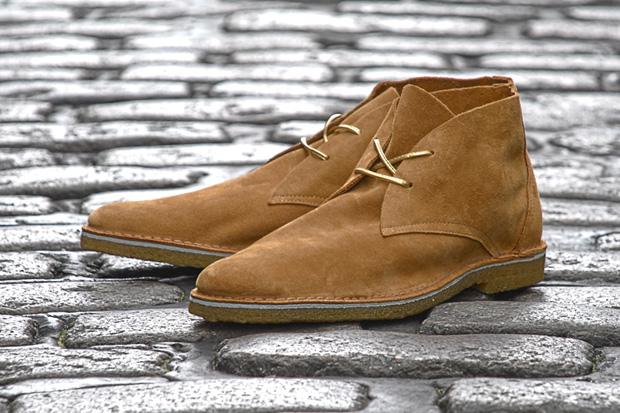 kitsune x pierre hardy series 10 desert boots