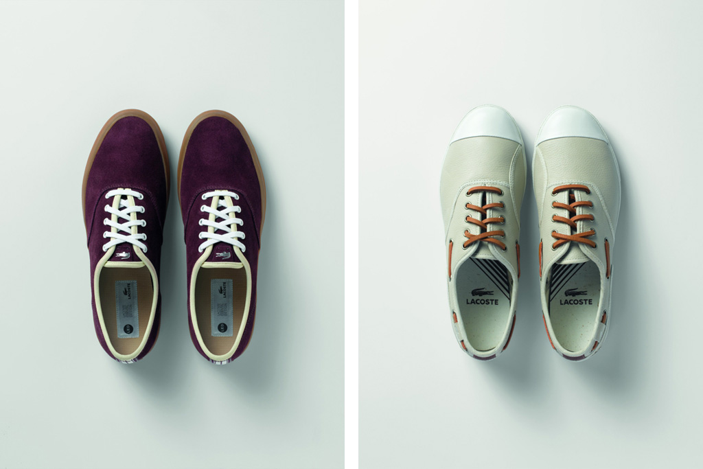 Lacoste 2012 Spring LED Footwear Collection