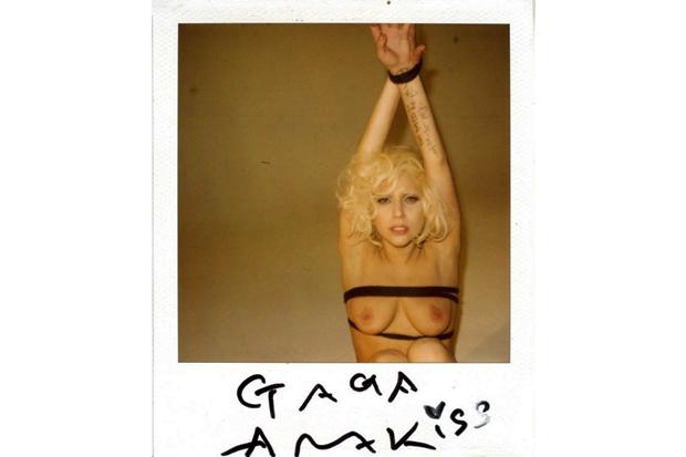 lady gaga in bondage by araki