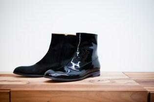 Maison Martin Margiela 2011 Pre-Fall Patent Shaded Boots
