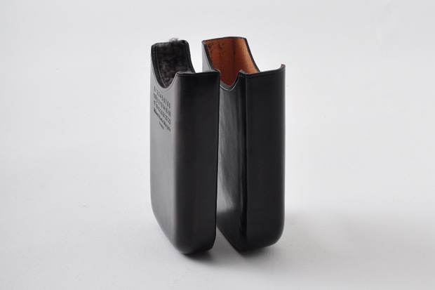 maison martin margiela leather phone case